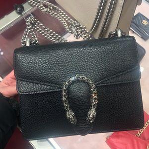 Dionysus Gucci Leather mini bag